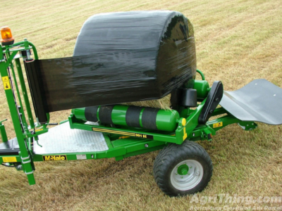 Used Silage Wrapper