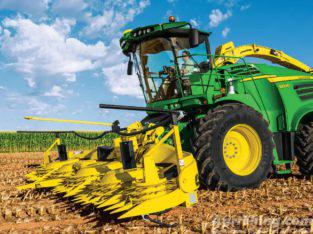 New 9000 Series Self-Propelled Forage Harvester