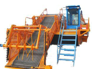 Full Hydraulic River Aquatic Weed Harvester Attachments For Big Capacity