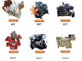 9900 Self-Propelled Forage And Silage Harvester Engines