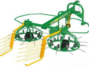 Mounted rake tedder JF Spin 3000 And Parts