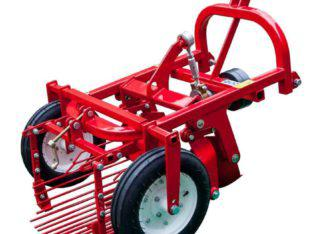 Agricultural Mini Tractor 3-Point Linkage Small Potato Digger
