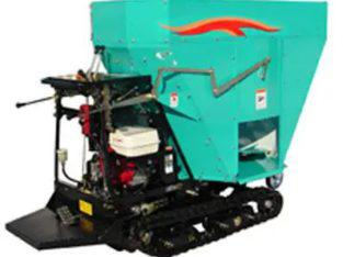 Self-propelled straw blower EF series, TAKAKITA CO.,LTD.