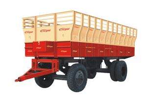 General Trolley For Tractor With Raised Edges