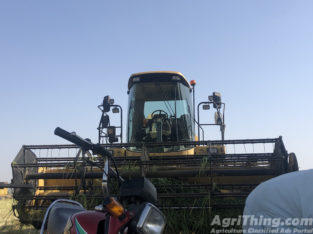 FX 450 with Oat Silage Cutter
